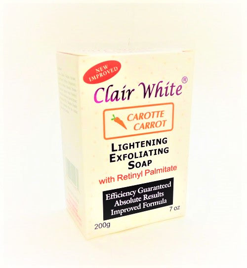 Clair White Lightening Carrot Soap 7 oz / 200 g - a1beaute