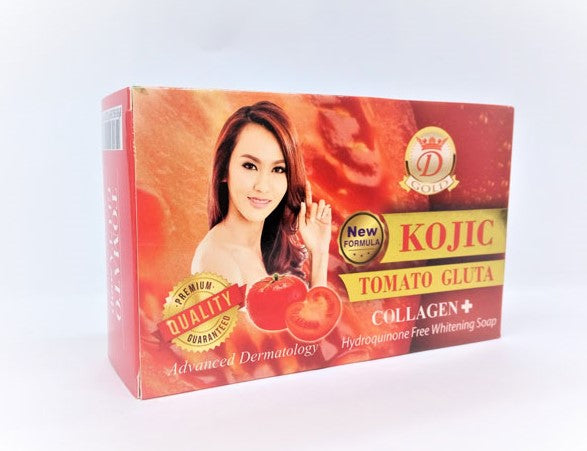 Kojic Tomato Gluta Collagen+ Soap 160g - a1beaute