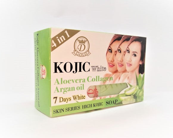 Kojic White Aloevera Collagen Argan Oil Soap 160g - a1beaute