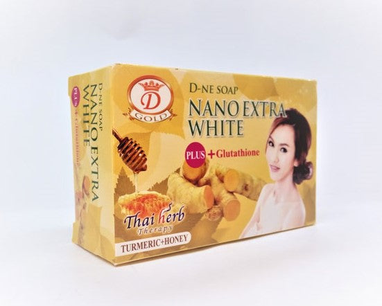 Nano Extra White Turmeric + Honey Soap 160g - a1beaute