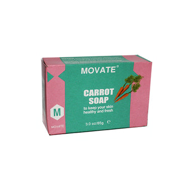 Movate Carrot Soap 3 oz / 85 g - a1beaute