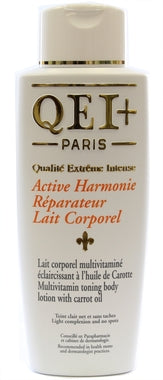 QEI+ Harmonie Reparateur multi-vitamin toning body lotion with carrot oil 16.8oz/500ml - a1beaute