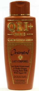 QEI+ Oriental Toning Body Milk Lotion with Argan Oil 16.8 oz 500ml - a1beaute