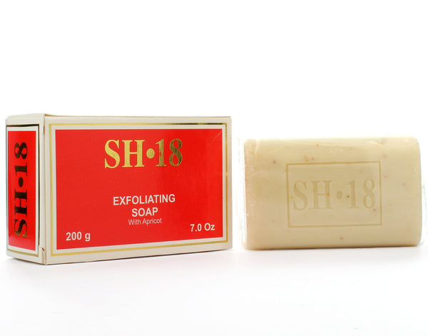 SH18 Exfoliating with Apricot Soap 7oz - a1beaute