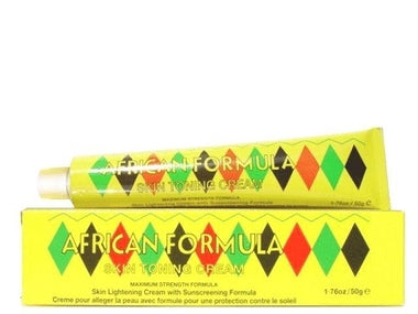 African Formula Skin Toning Cream (Yellow) 1.76 oz / 50 g - a1beaute