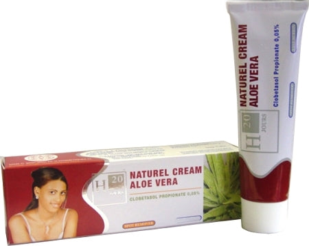 H20 Natural Aloe Vera Cream Tube 1.76 oz / 50 g - a1beaute