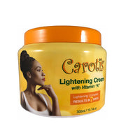 Carotis 7 Days Lightening Cream Jar with Vitamin A 10.14 oz - a1beaute