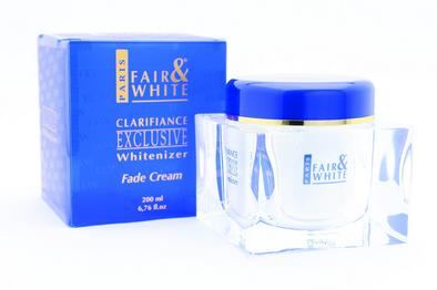 Fair & White Exclusive Whitenizer Fade Jar Cream 6.76 oz / 200 ml - a1beaute
