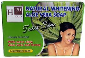 H20 Natural Aloe Vera Soap 7.5 oz / 225 g - a1beaute