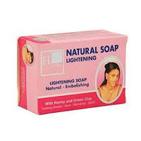 H20 Natural Lightening Soap (pink) 7.5 oz / 225 g - a1beaute