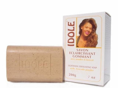 Idole Lightening Exfoliating soap (White) 7 oz / 200 g - a1beaute