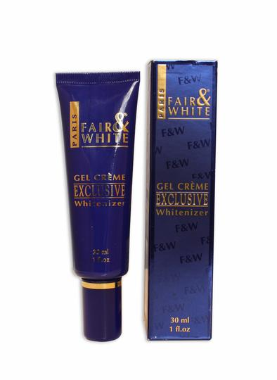 Fair & White Exclusive Whitenizer Gel Tube 1 oz / 30 ml - a1beaute