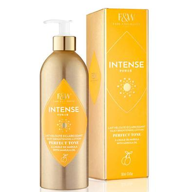 Fair & White Intense Silky Brightening Lotion Marula Oil 17.6 oz / 500 ml - a1beaute