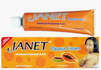 Janet Papaya Cream Tube 1 oz / 30 gr - a1beaute