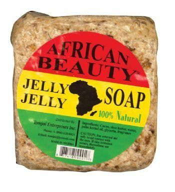 Cosmethings African Beauty Jelly Soap 100% Natural - a1beaute