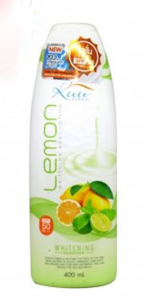 KUU Lemon Whitening Body Lotion 400ml - a1beaute