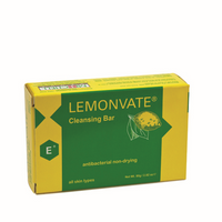 Lemonvate Antibacterial Cleansing Soap 2.81 oz - a1beaute