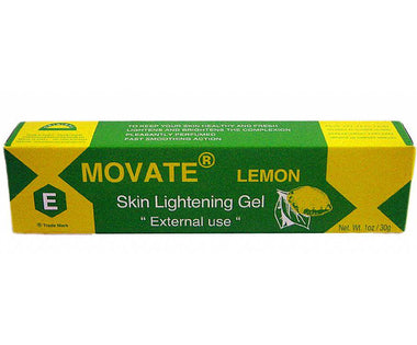 Movate E Skin Lightening Gel Tube - Lemon 1oz / 30g - a1beaute