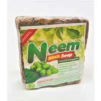 Cosmethings 100% Natural African Neem Black Soap 16 oz - a1beaute