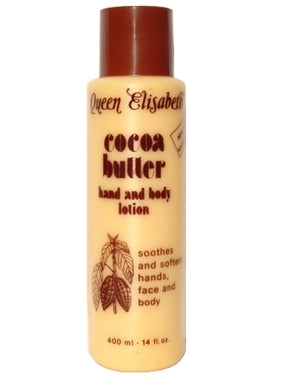 Queen Elisabeth Cocoa Butter Lotion 14 oz / 400 ml - a1beaute