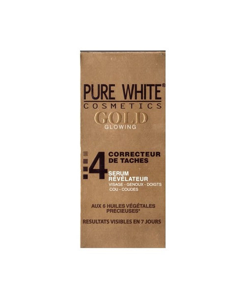 Pure White Gold Glowing 4 Dark Spot Corrector Serum 50 ml - a1beaute