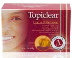 Topiclear Cocoa Butter Soap 3 oz / 85 g - a1beaute