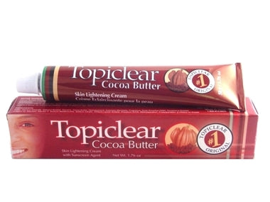 Topiclear Cocoa Butter Tube Cream 1.76 oz / 50 g - a1beaute
