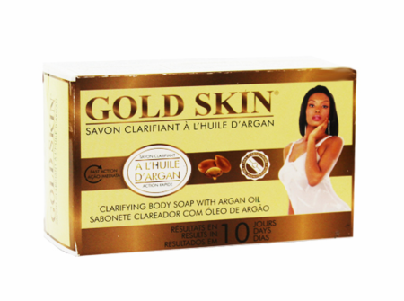 Gold Skin Clarifying Body Soap With Argan Oil 6 oz / 180 g - a1beaute