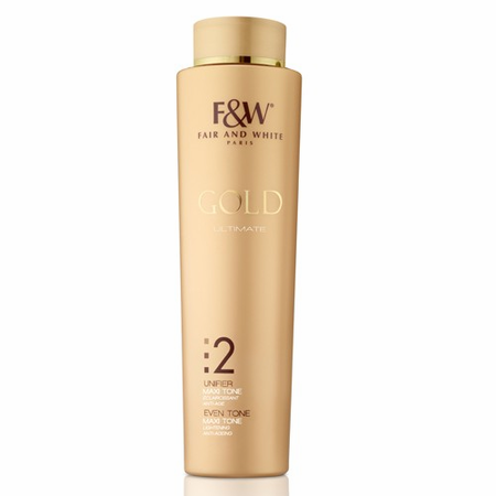 Fair & White Gold #2 Ultimate Revitalizing Body Lotion 17.6 oz / 500ml - a1beaute
