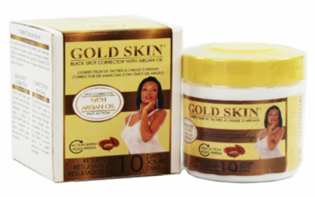 Gold Skin Black Spot Corrector With Argan Oil 1.34oz - a1beaute
