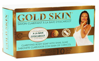 Gold Skin Clarifying Body Soap With Snail Slime 6 oz / 180g - a1beaute
