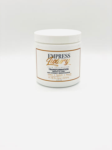 Transformation smooth & curly High Intensity Repair Masque