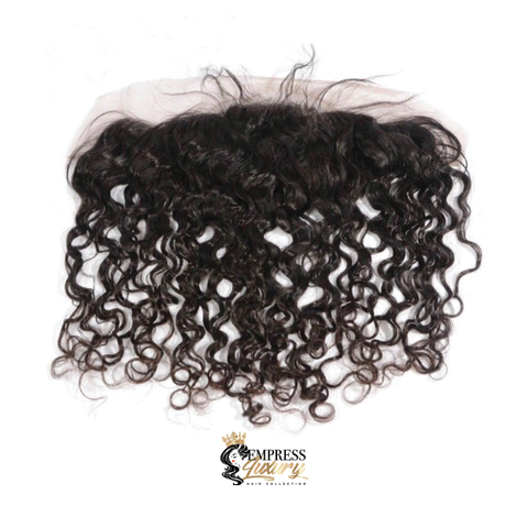 Natural Curl Lace Frontal