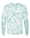 Aqua Tie Dye Long-Sleeve