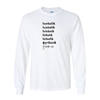 Long Sleeve Shirts Football Words