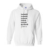 Hoodies Football Words