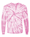 Pink Tie Dye Long-Sleeve