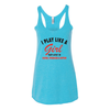 Women's Tank Tops Play Like a Girl