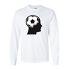 Long Sleeve Shirts Soccer Ball Brain