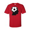T-Shirts Soccer Ball Brain