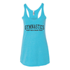 Women's Tank Tops Vault Bars Beam Floor