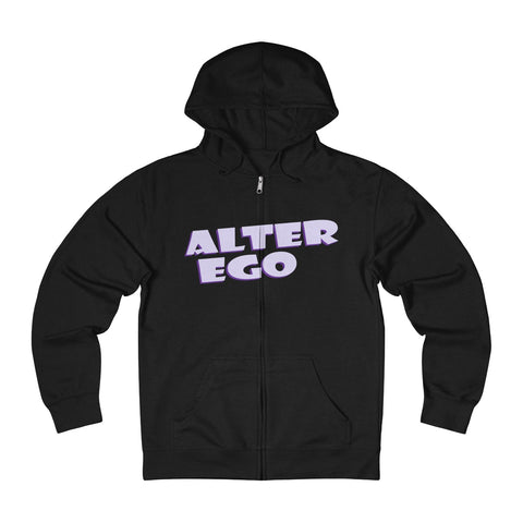 Alter Ego Unisex French Terry Zip Hoodie