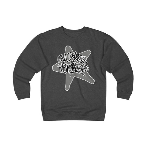 Badass and Brash Star Unisex Heavyweight Fleece Crew