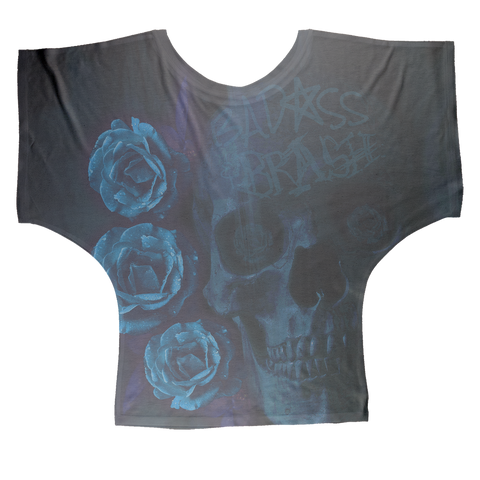 Forever The Blues AOP Batwing Top
