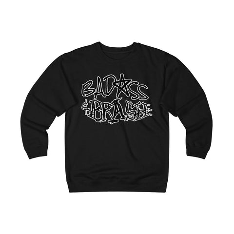 Badass and Brash Logo Unisex Heavyweight Fleece Crew