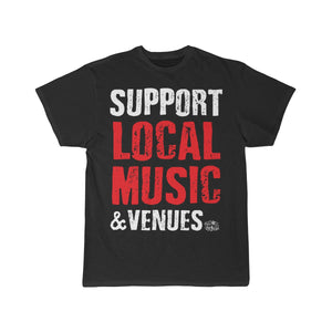 Support and Keep Music Live 2-Sided T-Shirt