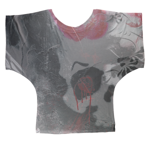 On The Wall AOP Batwing Top
