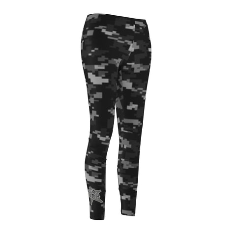 Women's Camo Greys Leggings