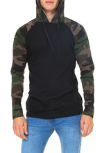 MEN'S LIGHTWEIGHT RAGLAN HOODIE JR-10-02HD