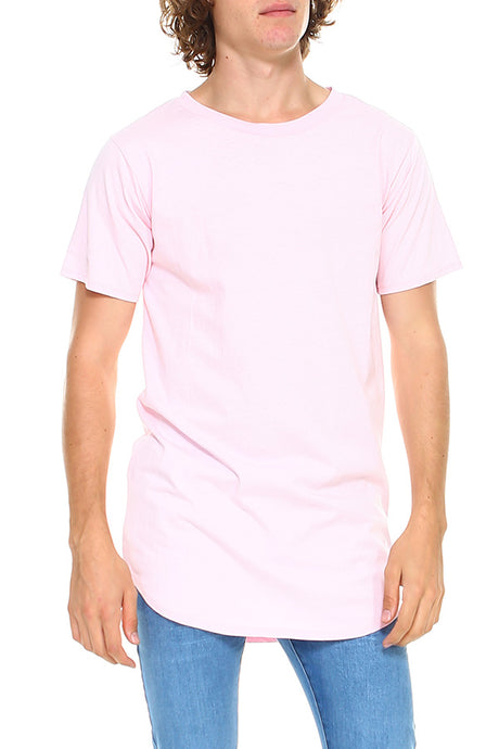 Hawks Bay - Men's Hem Curve Premium Cotton Crew Neck T-Shirt -Jr-4/09-1